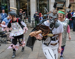YMPST waggon play performance, St Helen's Square, 16 September 2018 - 13