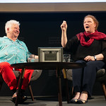 Sue Black with Val McDermid | © Alan McCredie