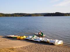 Lac des Settons - Plage