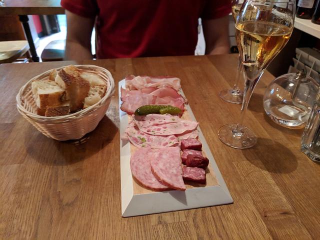 meat platter @ L'un des Sans