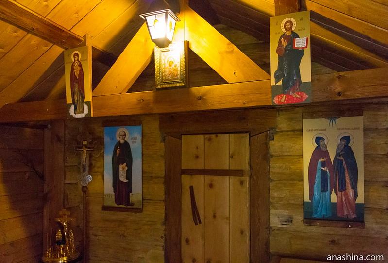 Трапезная храма преподобных Сергия и Германа Валаамских, Северная Фиваида, Рауталахти, Карелия