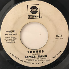 JAMES GANG:FUNK #49(LABEL SIDE-B)