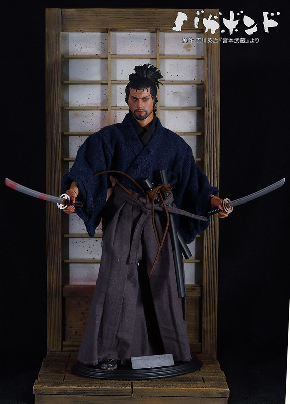 1/6 Wolfking Miyamoto Musashi from graphic novel 'Vagabond'  43472857624_e143aa10af_c