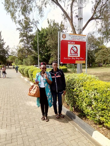 Winfred ensures Neema settles into university life