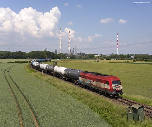 EVB 223 032 Ölzug Vohburg Bayernoil