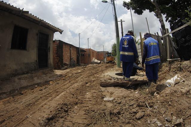 Obras de verão levam melhorias e qualidade de vida aos moradores da zona Leste