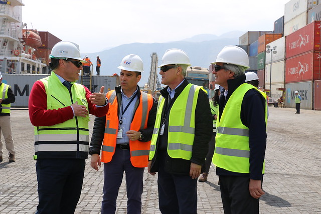 Presidente del SEP visita el Puerto de Iquique