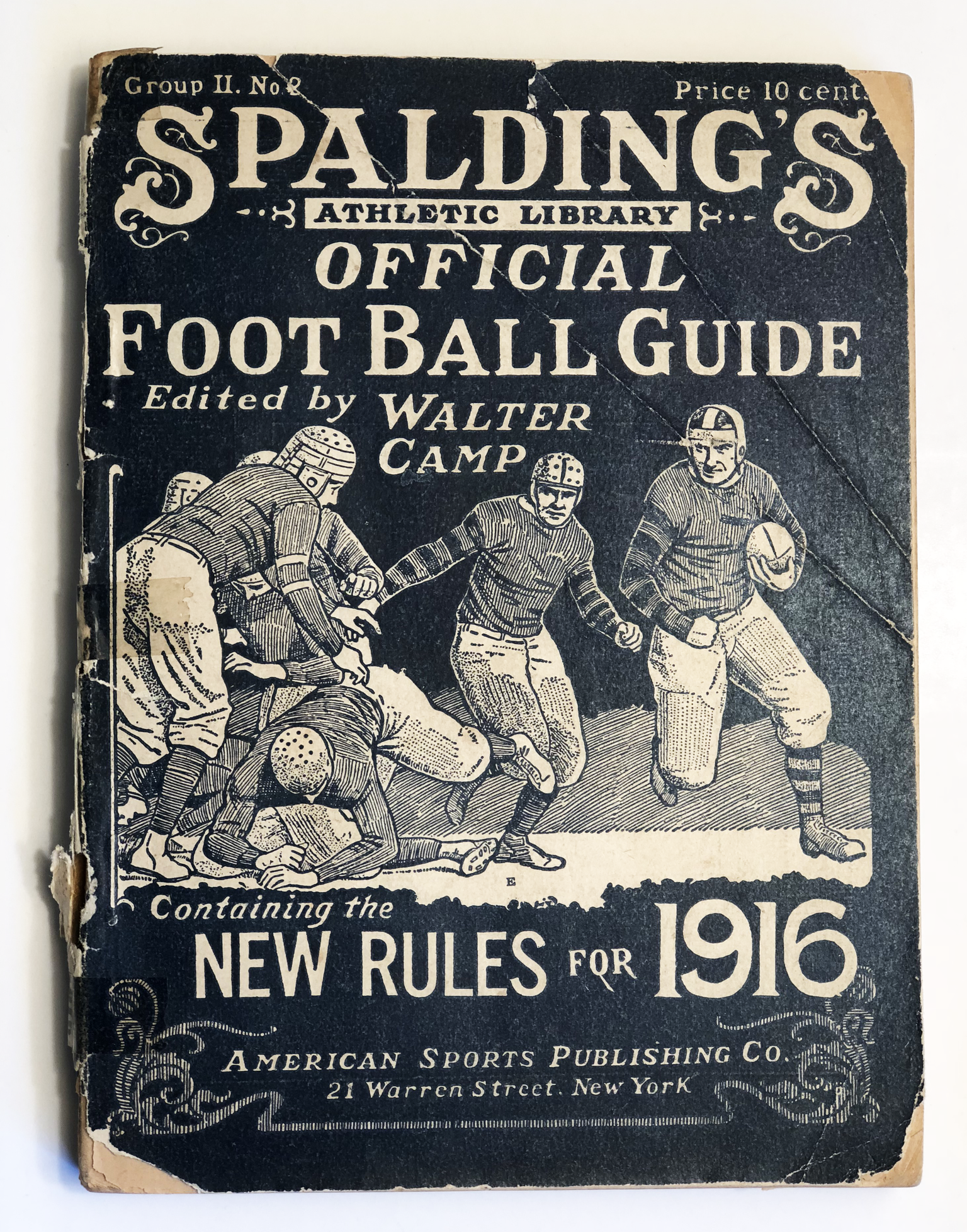 1916 Camp Football Guide