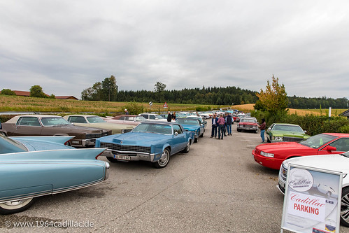 2018 Cadillac Big Meet, cruising