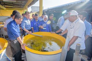 Lawatan Kerja YB Dato' Salahuddin Ayub, Menteri Pertanian dan Industri Asas Tani