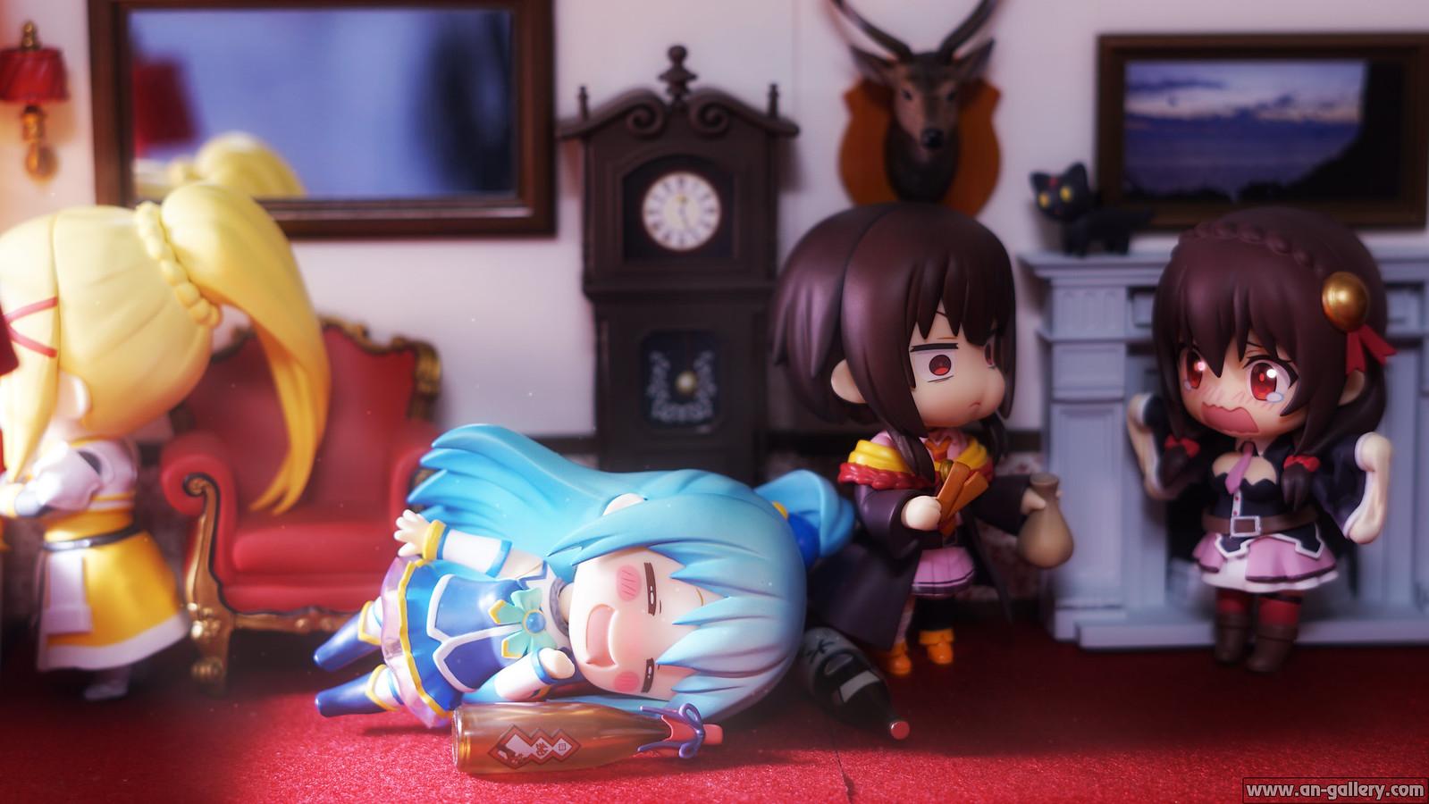 The weekend of Konosuba's heroines