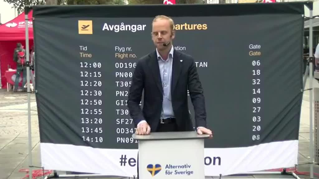 Gustav i Trollhättan 4 - integrationen kostar svenska skattebetalare skjortan