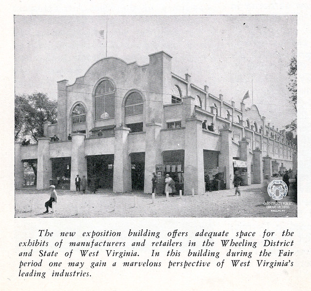 Exposition Hall on Wheeling Island