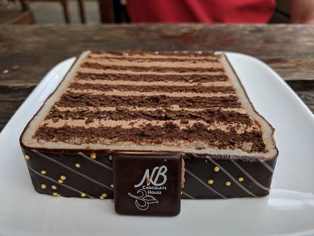chocolate cake @ Chocolate House Nathalie Bonn