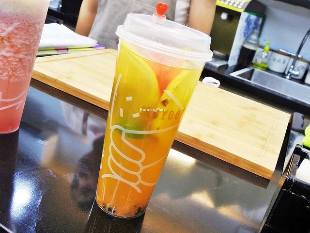 Fun Fruit Tea - Peach + Kalamansi + Passion Fruit