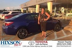 #HappyBirthday to Tiffany  from Danielle Garcia at Hixson Toyota of Leesville!