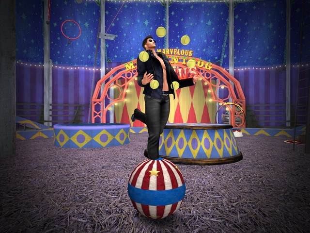 Marvelous Moomintoog Circus - Juggled Act