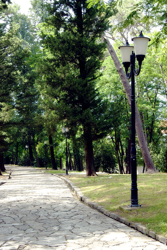 В Городском парке Тивата