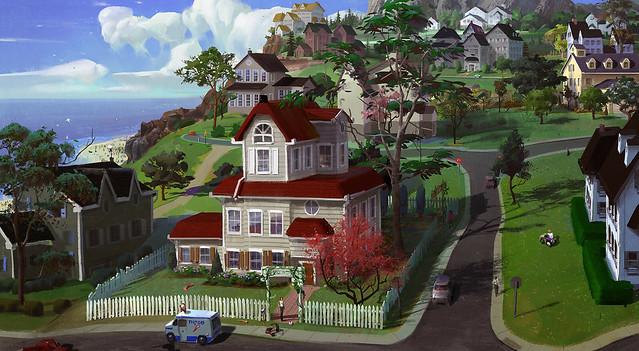 The Sims 4 Novo Conceito de Arte da Vizinhança