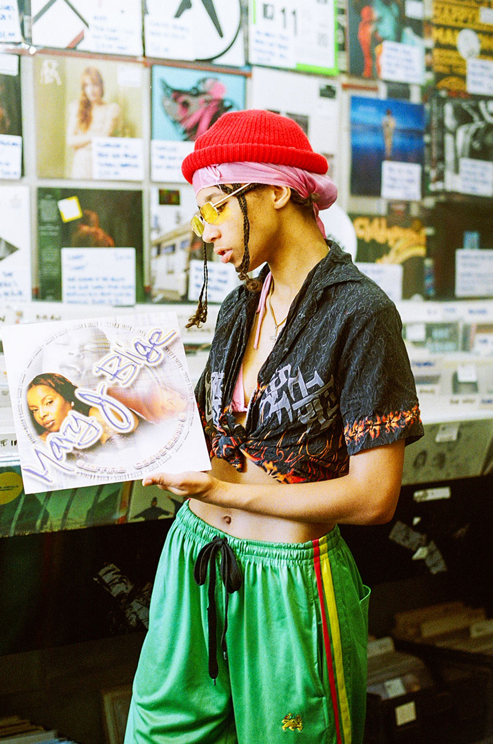 Record Shopping with Lava La Rue at Rough Trade West