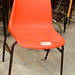 E15 metal framed plastic chair