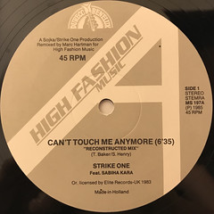 STRIKE ONE:CAN'T TOUCH ME ANYMORE(LABEL SIDE-A)