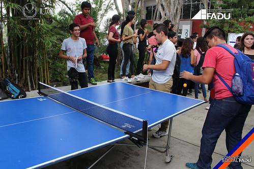 Llevan acabo alumnos de la FADU prácticas deportivas por parte de la Subdirección de Deportes UAT
