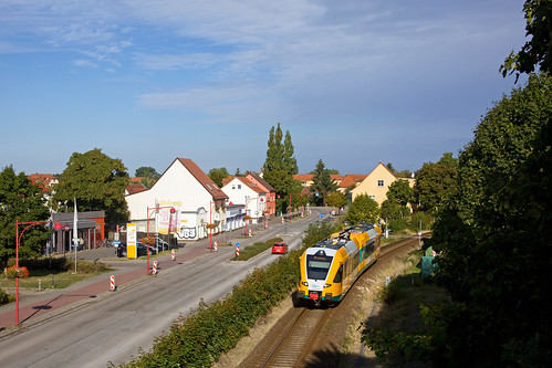ODEG VT 646 040 - RB 68847  Rathenow - Brandenburg Hbf  - Premnitz Zentrum