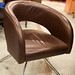 Leatherette meeting chair