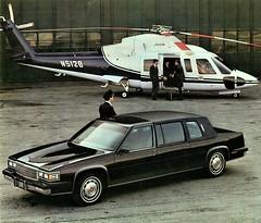 1985 Cadillac Fleetwood Seventy Five Formal Limousine