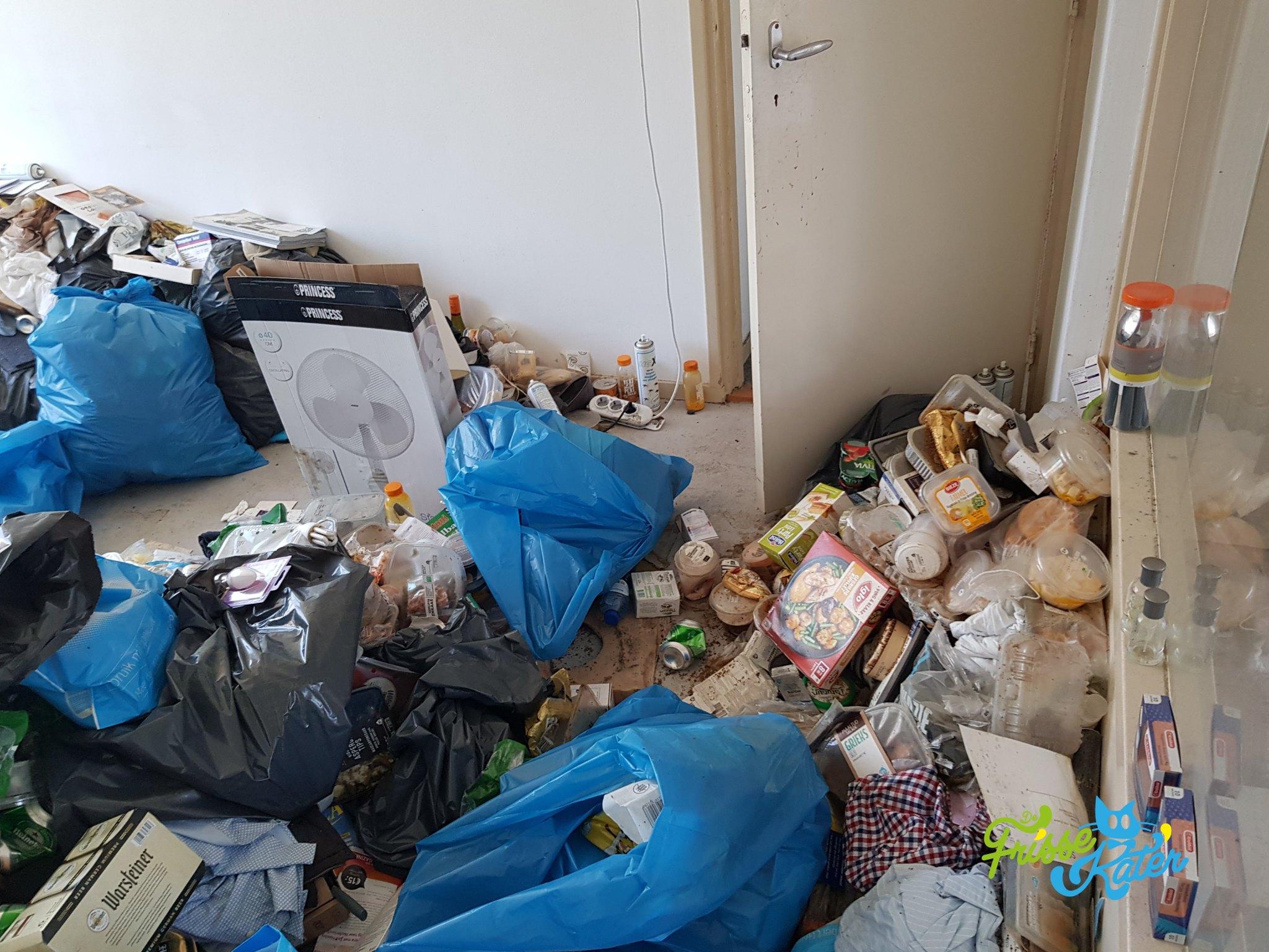 verzamelwoede schoonmaak