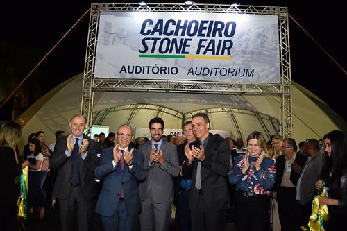 Abertura CACHOEIRO STONE FAIR 2018