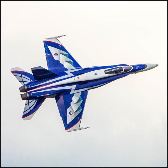 F18 Demonstration Jet Decked, Nikon D7200, AF-S Nikkor 80-400mm f/4.5-5.6G ED VR