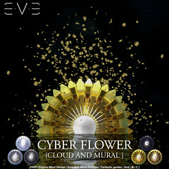 E.V.E's Cloud of Cyber Flowers