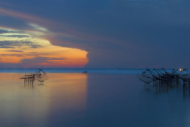 two tones lake, Canon EOS 5D MARK III, Canon EF 70-200mm f/2.8 L