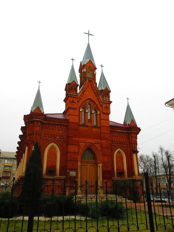 Единственный католический храм Тульской области