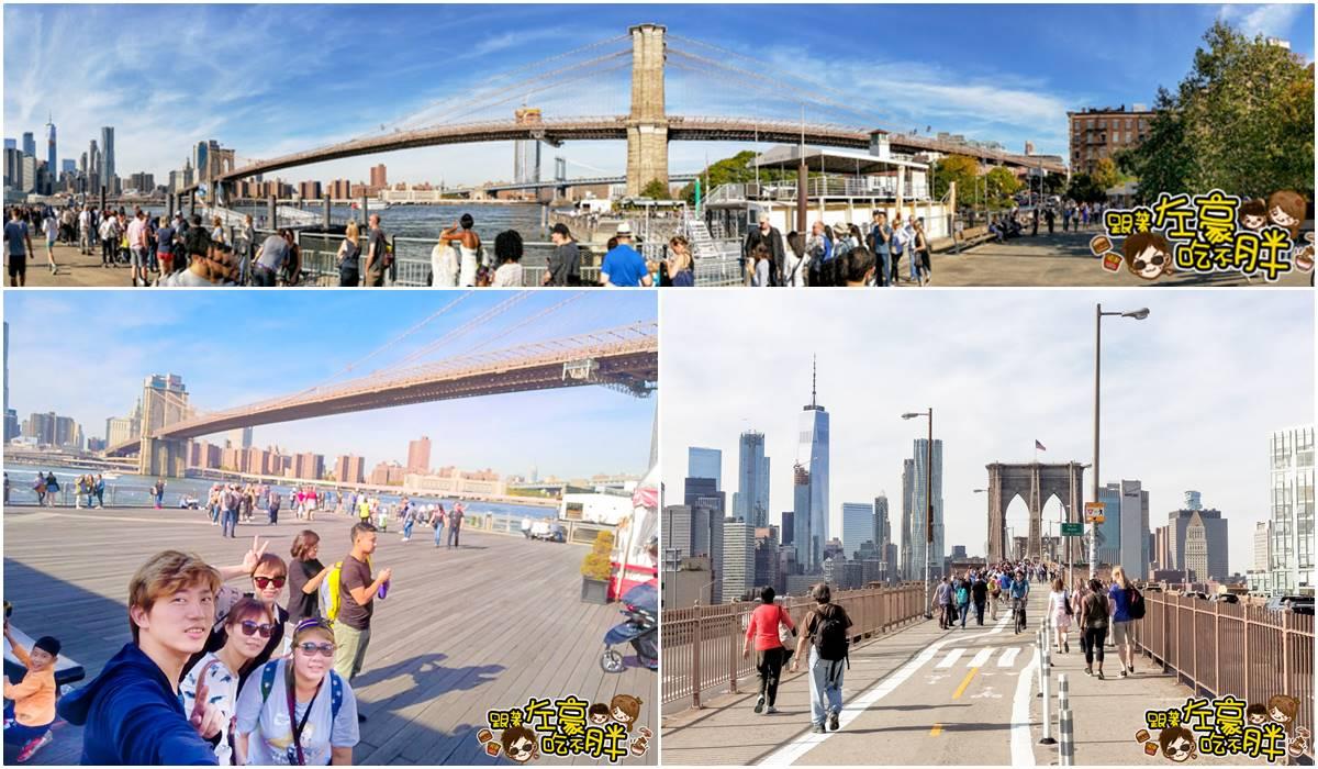 美國景點-布魯克林大橋0