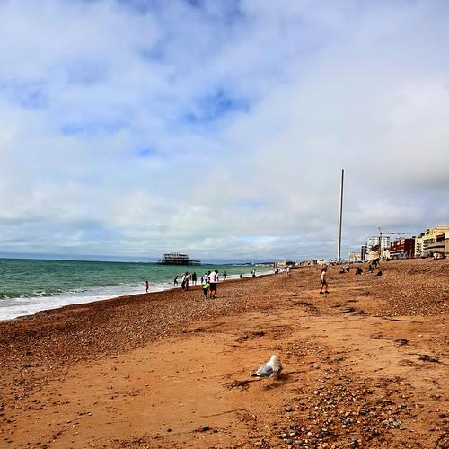 La spiaggia di Brighton
