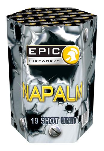 NAPALM 19 SHOT 30MM FIREWORK CAKE