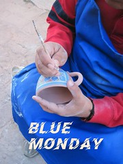 BLUE MONDAY BADGE