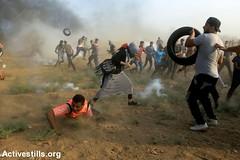 Gaza fence protest, Gaza Strip, 31.8.2018