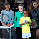 Serena Williams, Billie Jean King, Naomi Osaka