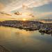 Brixham marina sunset
