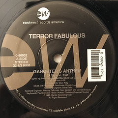 TERROR FABULOUS:GANGSTER'S ANTHEM(LABEL SIDE-B)