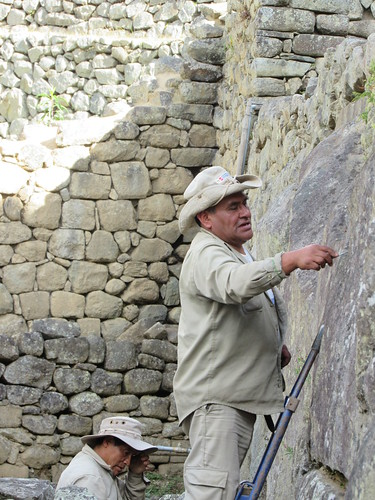 Machu Picchu - Restoration Work