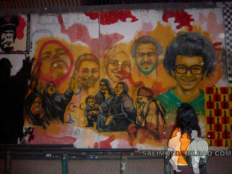 0295. Saioa, Plaza Tahrir, Cairo