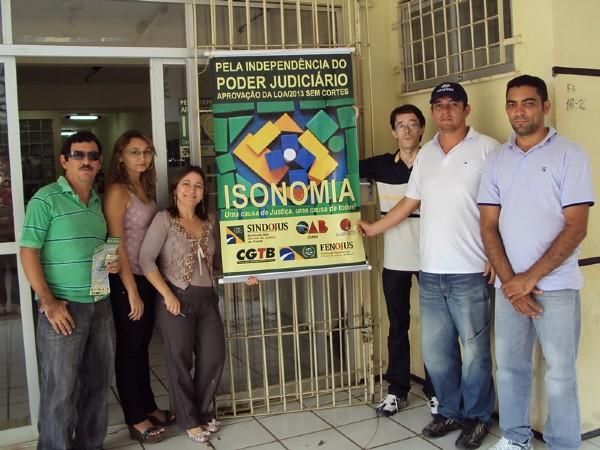 Paralisação em Lavras da Mangabeira - 02/12/2012