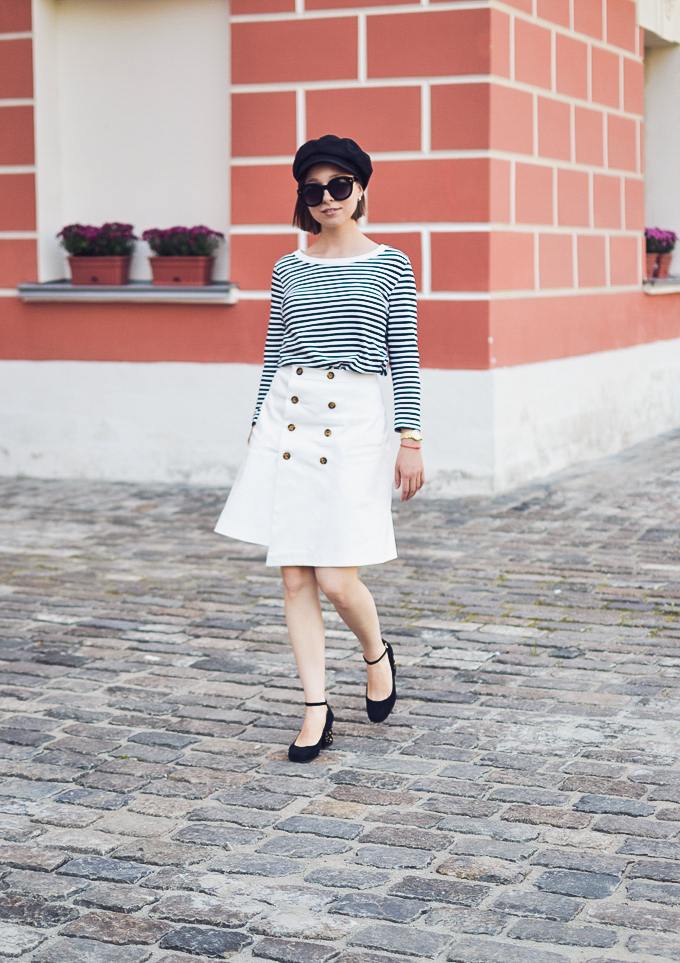 double button wrap skirt vikisews amelia юбка амели-19