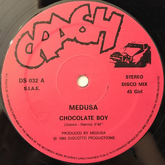 MEDUSA:CHOCOLATE BOY(LABEL SIDE-A)