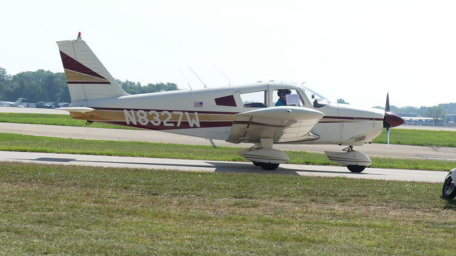 N8327W PIPER PA-28 180, Panasonic DMC-FZ330